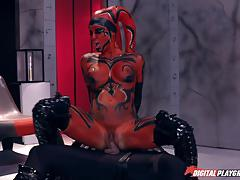 ramon nomar, kleio valentien, blowjob, fucked, cumshot, horny, reverse cowgirl, monster, movie, rider, ride, balls deep, parody