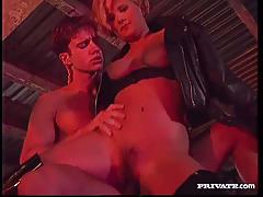 Wild vintage anal sex