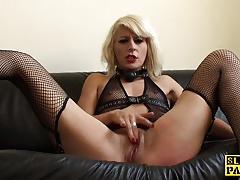 british, bdsm, masturbation, stockings, heels, fingering, solo, spanish, orgasm, fetish, closeup