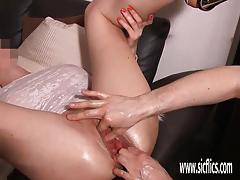 ex girlfriend, big tits, milf, busty, fisting, bottle, gape, amateur, insertion, gaping