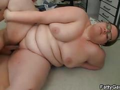 Big belly chubby teacher fucks student