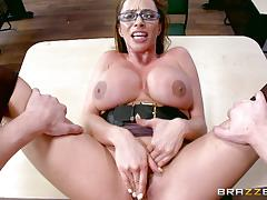 Cock sucking horny teacher ariella ferrera