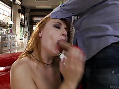Eva berger bouncing on a big cock