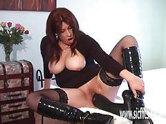 ex girlfriend, masturbation, dildo, bbw, kinky, mature, gape, sex toy, amateur, fetish, insertion, gaping