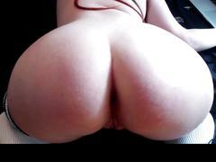 Cucumber in ass