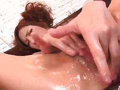 Steaming pussy play on the couch with tsubasa aihara