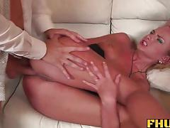 Blonde ivana sugar first double penetration