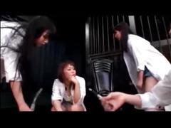 Japanese cheergirl femdom piss