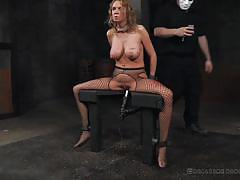 milf, blonde, threesome, bdsm, big tits, domination, dildo, hot wax, electro bdsm, real time bondage, cherry torn, rain degrey