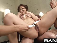 Sexy japanese sluts get creampied