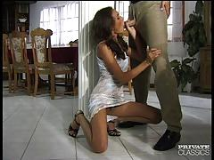 Brunette assfucked by her sex therapist