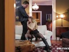 Anna polina, sexy spy gets anal sex