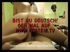 German deutsche teen nachbarin reitet creampie blowjob