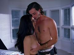 Hot brunette lana rhoades rammed doggystyle
