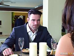 Milf angelica taylor banged balls deep on the dinner table