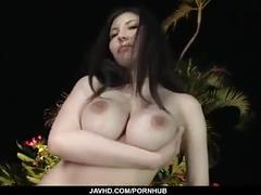Sofia takigawa uses tits and lips to deal a big dick
