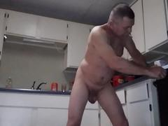 Mike muters  morning ritual making naked coffee