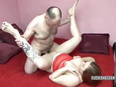 Chubby swinger tiffany blake takes some dick in her twat