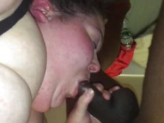Ssbbw blow job pov