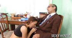 Hardcore drilling from teacher amateur movie 2