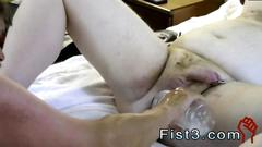 Sex tubes with gay videos sky works brocks hole with his fist