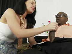 Massive black cock slams into katie st ives