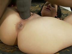 Massive black cock slams into katie st ives