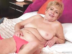 Kinky old granny malya loves big dick