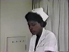 Ebony ayes - hospital scene.