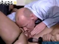 Bbw ebony lady takes on horny guys