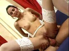 Patricia gets her ass ready for the hot anal action.f70