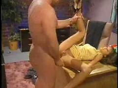 Skinny asian milf office fuck...f70