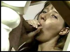 Milf blowjob & cumshot-3