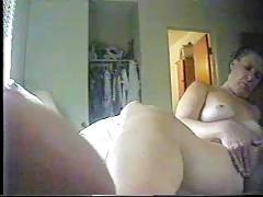 Hidden cam. nice closeup. my mom masturbating