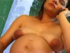 Filming his  pregnant teacher masturbating in classroom...f70