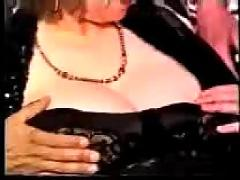 My fat busty granny make porn