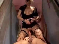 Voyeur caught spying on a woman ...f70
