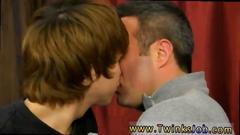 Skinny emo twink and his daddy give each other blowjobs