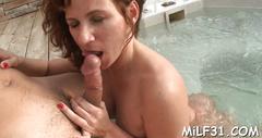 Raunchy threesome fucking mature porn 1