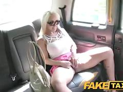 Faketaxi hungarian beauty with perfect body