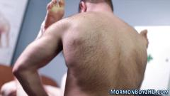 masturbation, old and young, bareback, cumshot, handjob