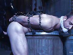 Bound in chains and fucked