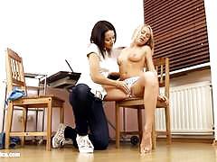 ex girlfriend, lesbian, licking