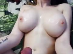 Teen babe with nice natural tits