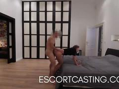 Luxury callgirl caught on hidden cam giving amazing fuck