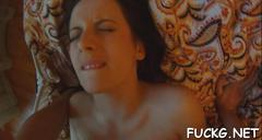 Fancy girl fucked on a spycam video