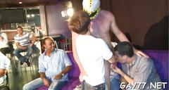 Horny gay boys at party film feature 1
