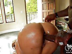 Interracial anal bridgette b