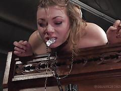 bdsm, strapon, latex, babe, tied, lesbian domination, from behind, roleplay, nun, real time bondage, harley ace