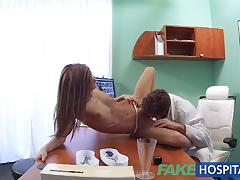 Doctor fucks sexy patients tight pussy